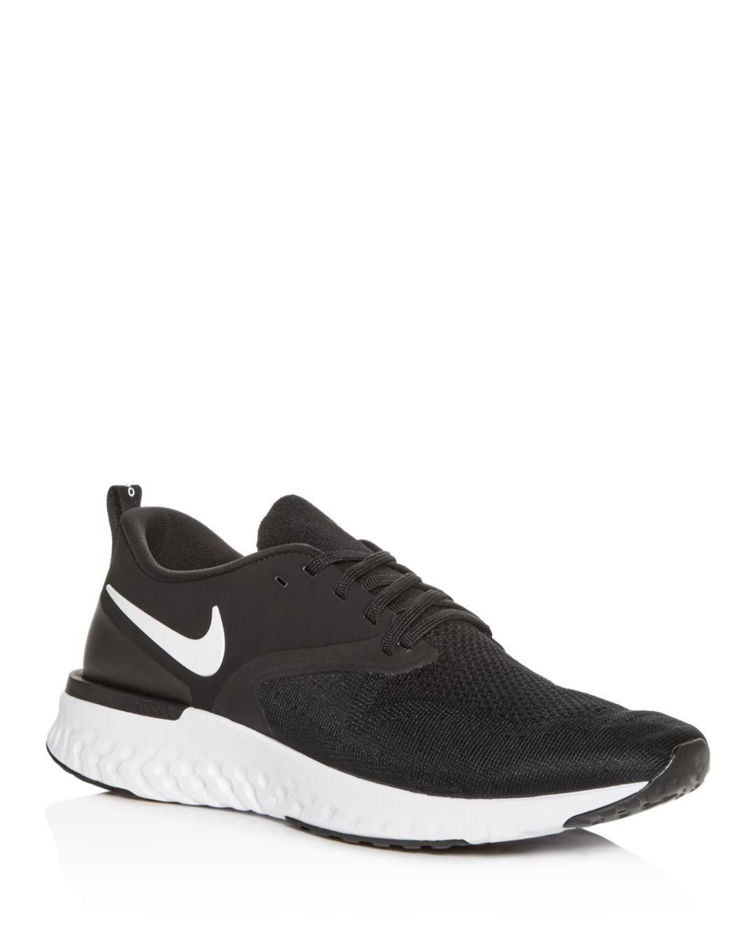 e2dc494f882dd Lyst - Nike Men s Odyssey React Low-top Sneakers in Black for Men ...