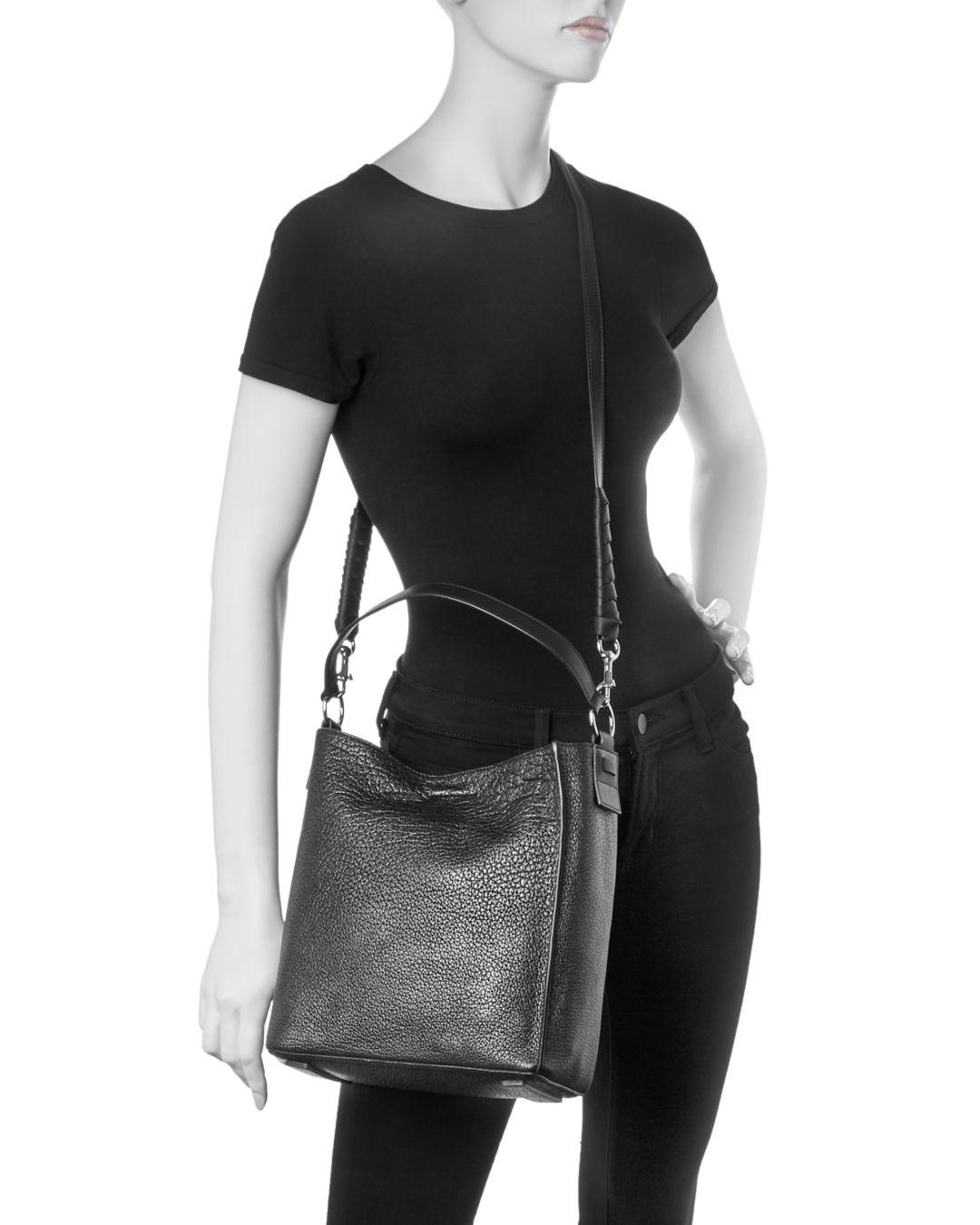 b9d632a943 Allsaints Voltaire Small Leather Tote - Lyst