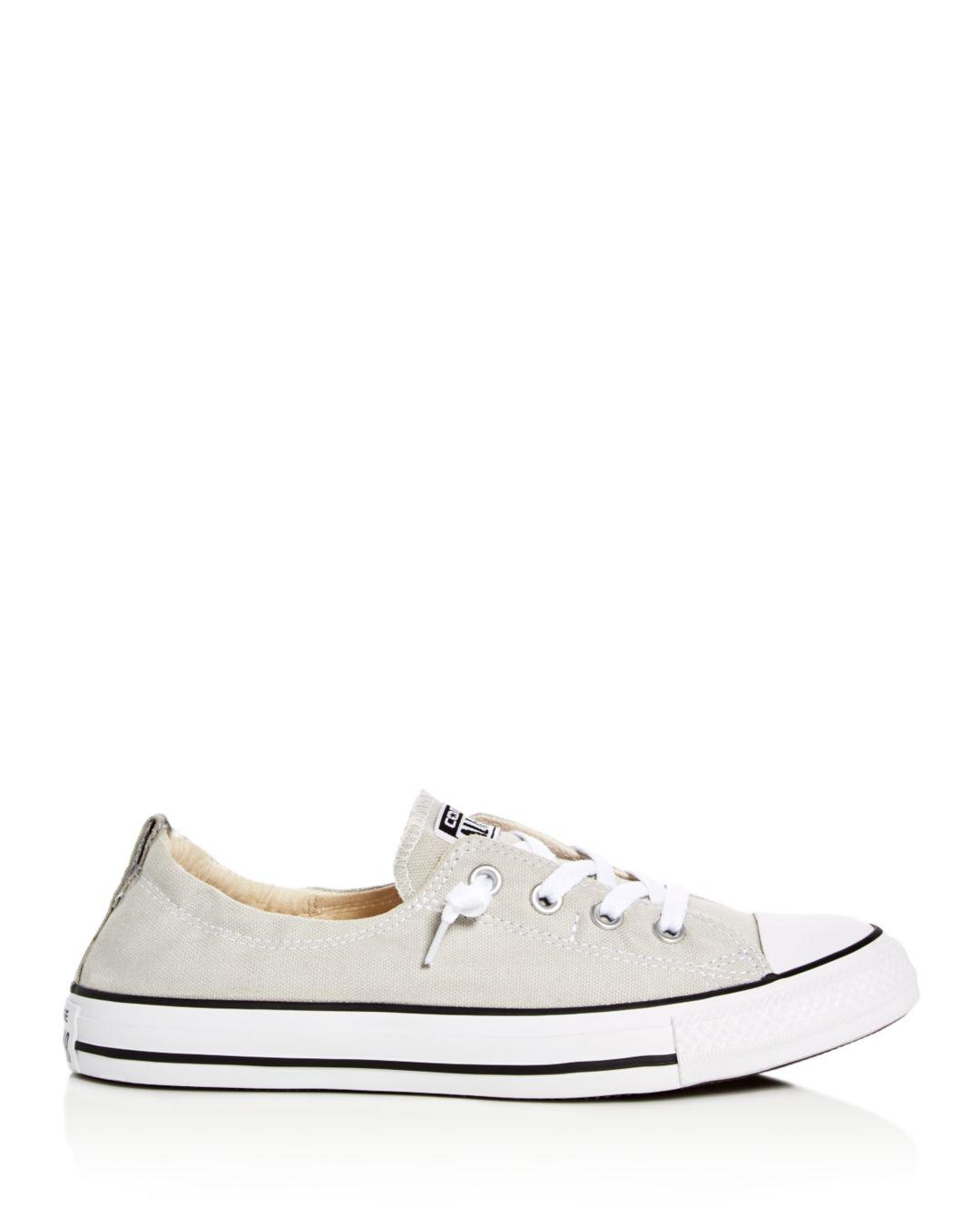 Converse Women s Chuck Taylor All Star Shoreline Slip-on Sneakers in White  - Save 12% - Lyst 0c1e1acab