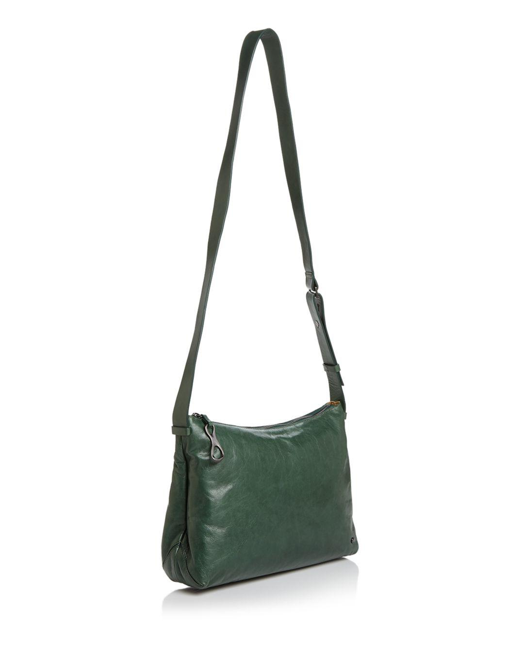 ad0d05a668ff Lyst - Halston Tina Leather Crossbody Bag in Green
