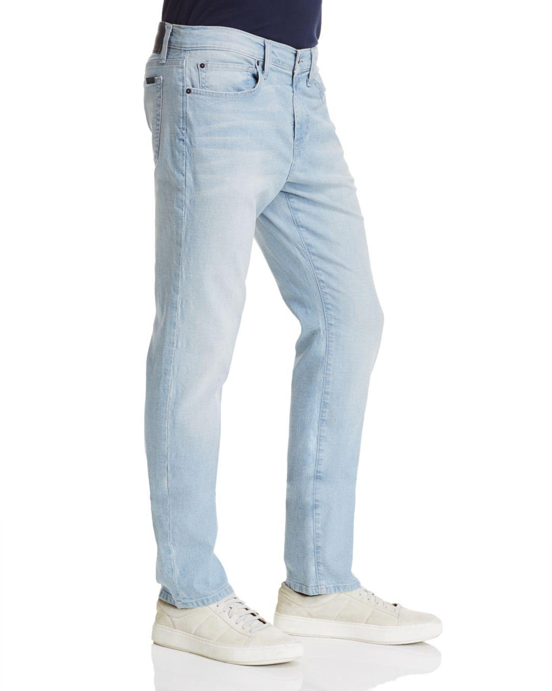Joe's Jeans Denim Brewster Slim Fit Jeans In Light Indigo in Blue for Men