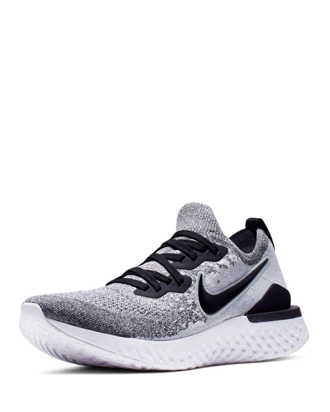 2ca3c5863c7b Lyst - Nike Men s Epic React Flyknit Sneakers in White for Men