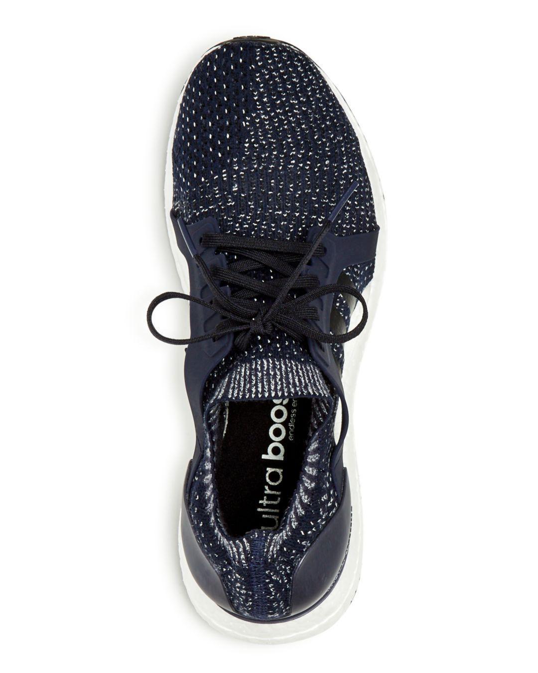 aa63fcae607a7 Adidas Womens Ultra Boost X Running Shoes Knit White - Style Guru ...