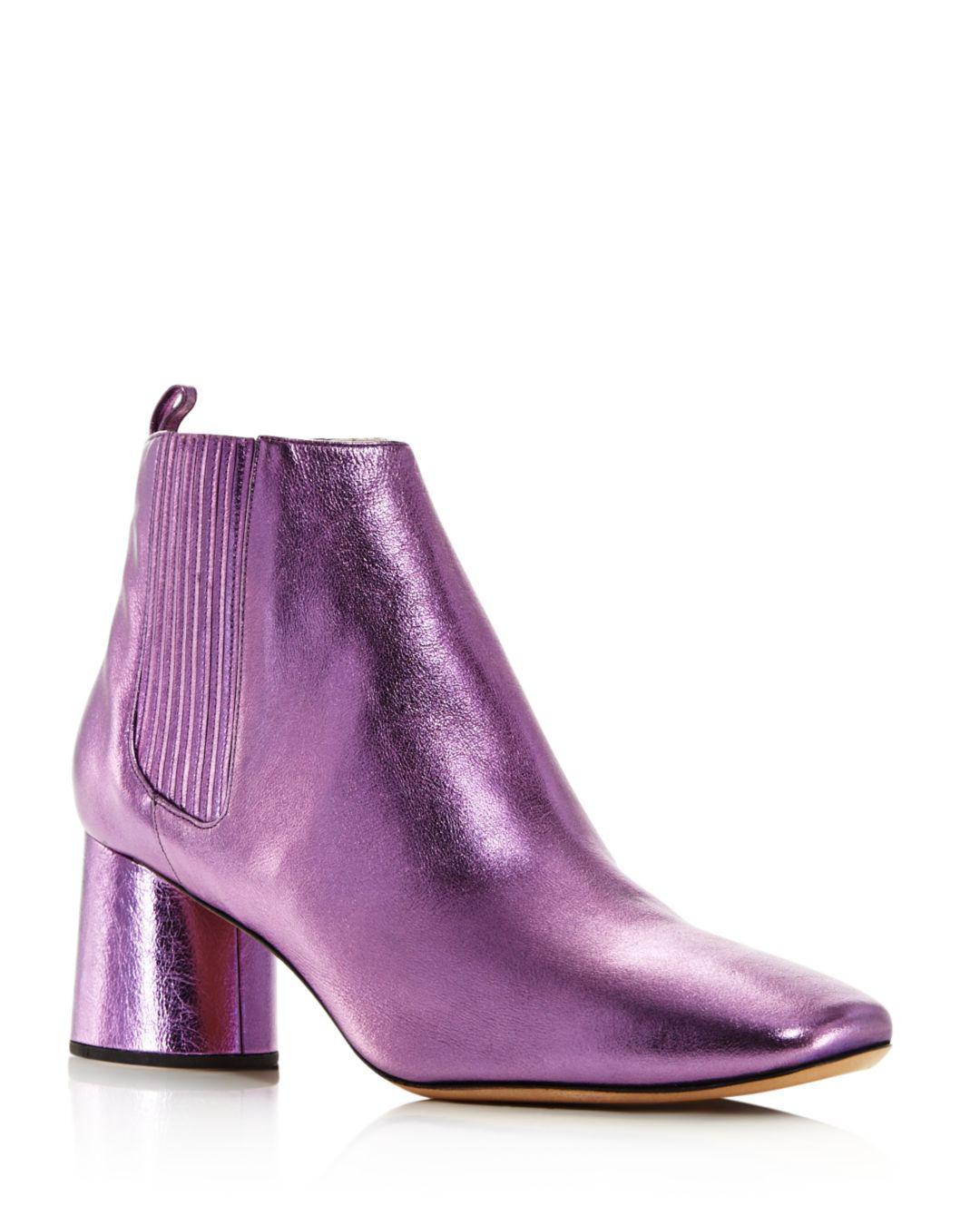 5097ff0f35d4 Lyst - Marc Jacobs Women s Rocket Round Block Heel Chelsea Booties ...