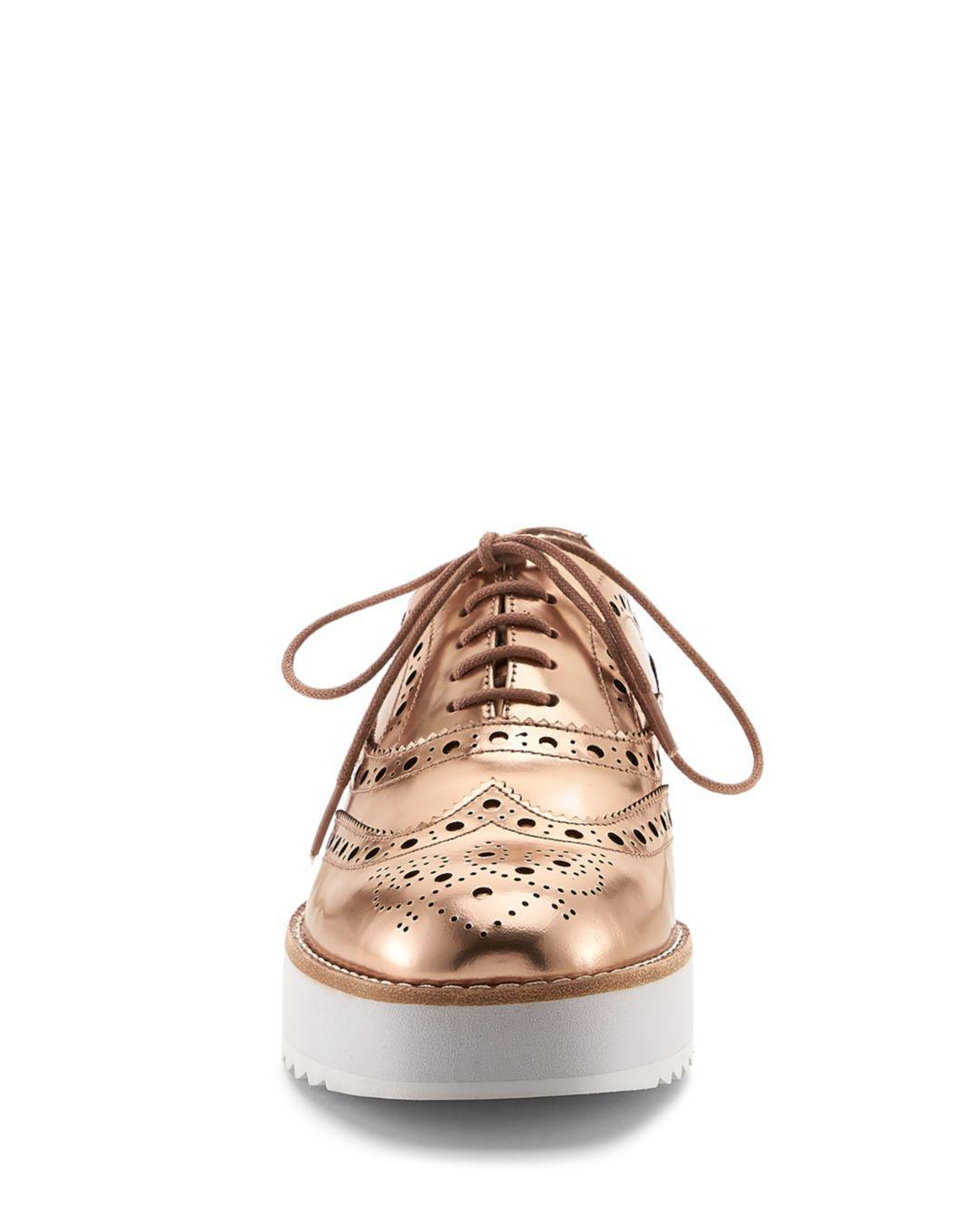 Clive Platform Oxford Loafers