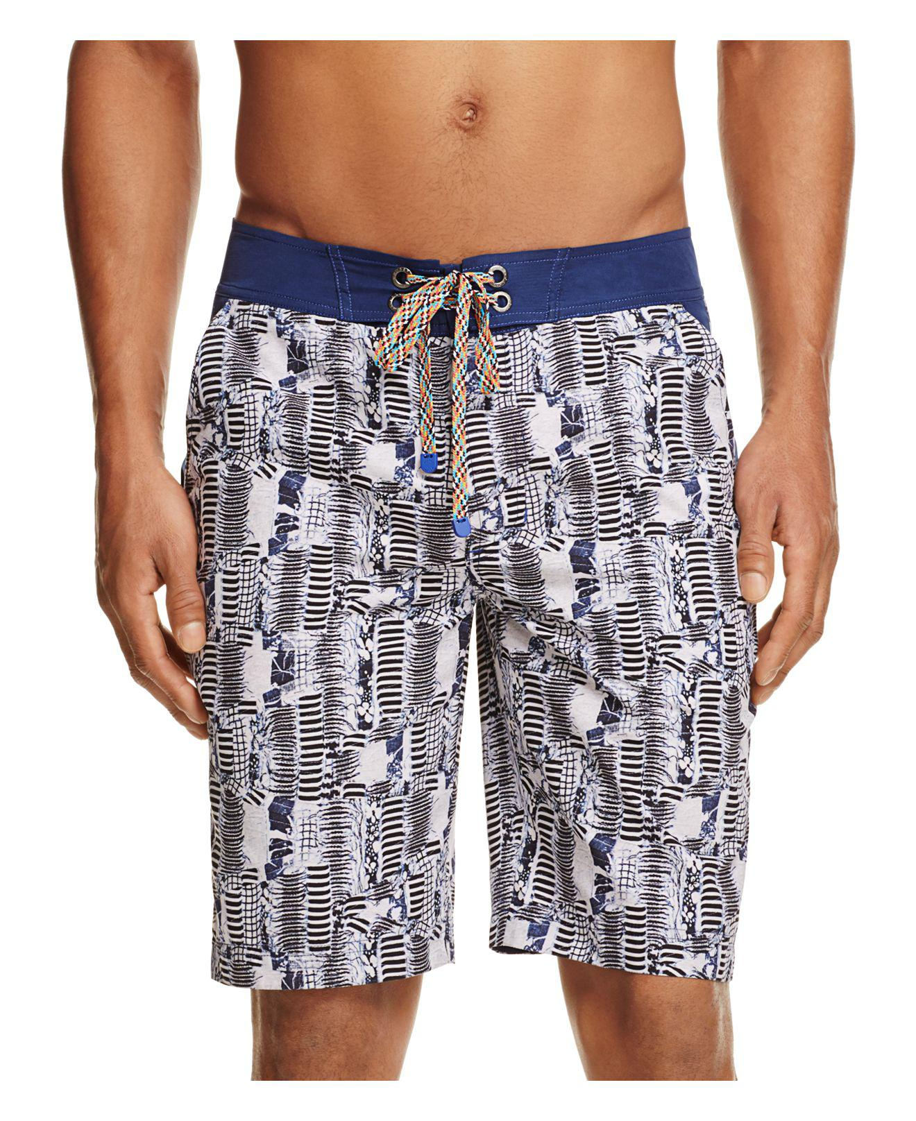 Robert Graham Mens Tongva Park Swim Trunk