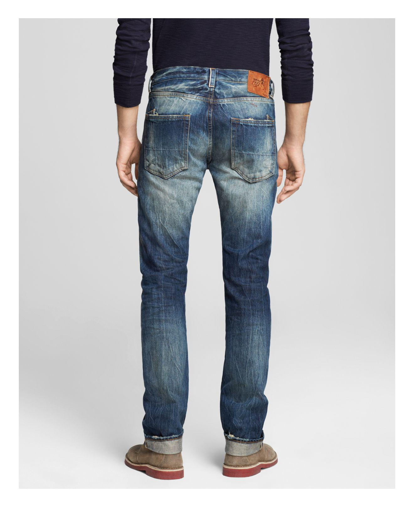 PRPS Denim Jeans - Demon Slim Fit In One Year Wash in Blue for Men