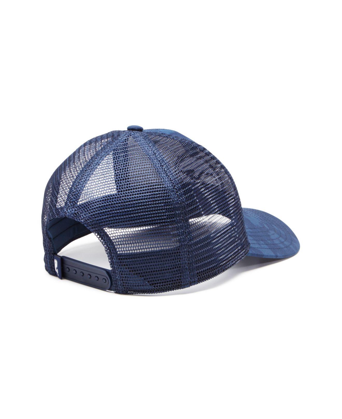 fe4bc27b41e34 Lyst - Vineyard Vines Camouflage Trucker Hat in Blue for Men