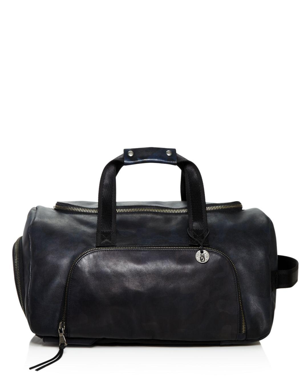 John Varvatos Brooklyn Convertible Backpack duffel in Blue for Men ... be1d2462e7