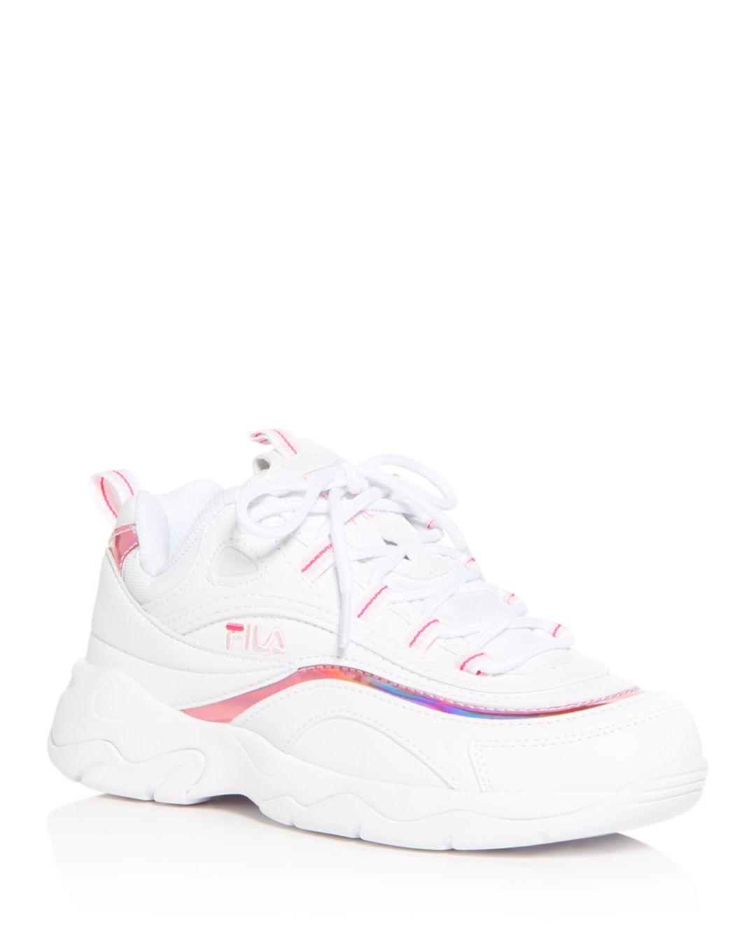 Fila Women's Ray Low - Top Sneakers in