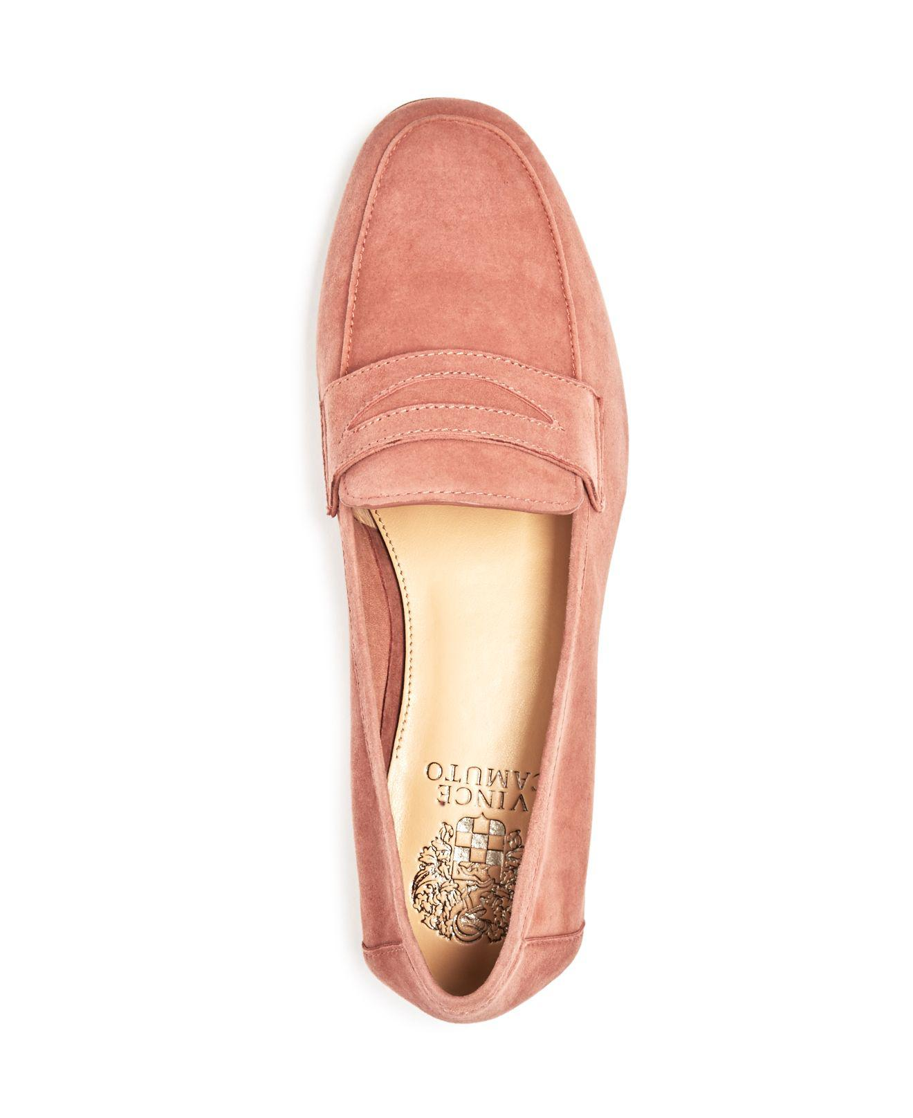 e8e9c6a84d4 Lyst - Vince Camuto Elroy Penny Loafers in Black