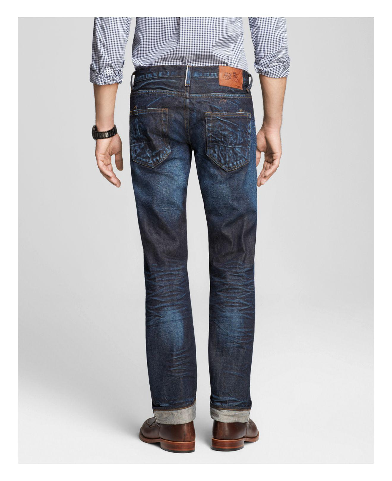 PRPS Denim Jeans - Barracuda Straight Fit In Six Month Wash in Blue for Men