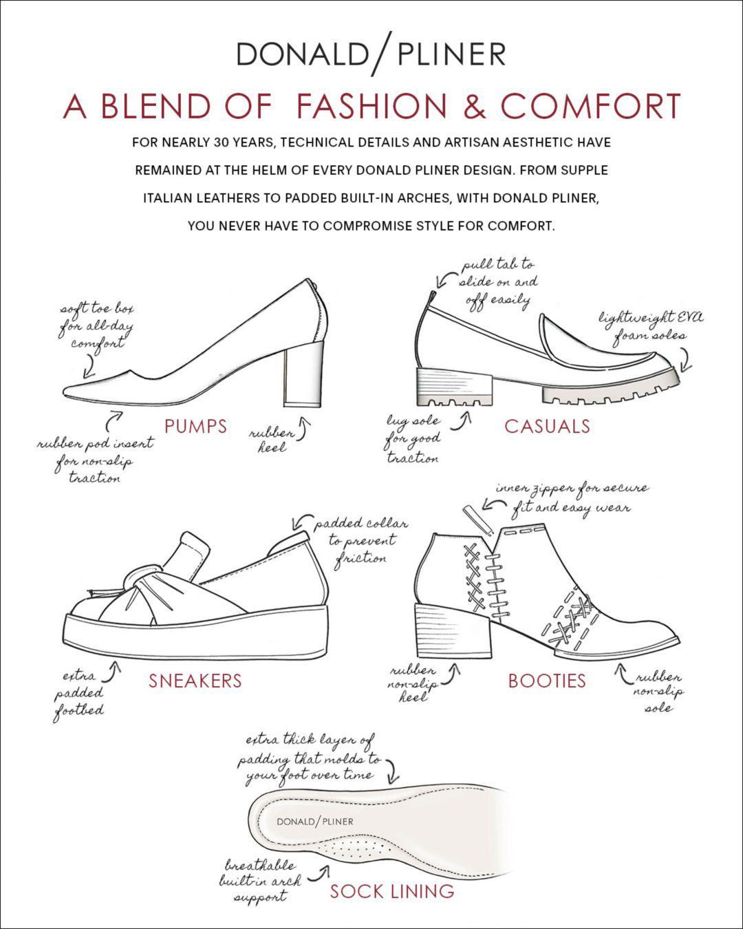 Donald J Pliner Women's Gene Leather Slip-on Sneakers