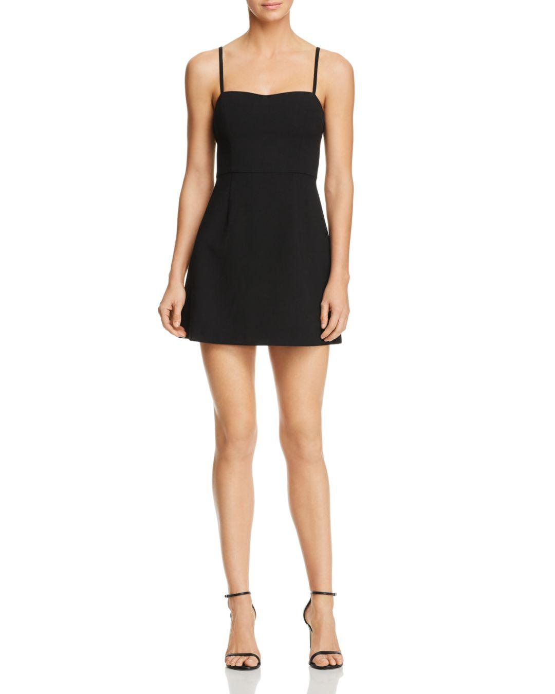 a3be1f25421e French Connection Whisper Light A-line Dress in Black - Lyst
