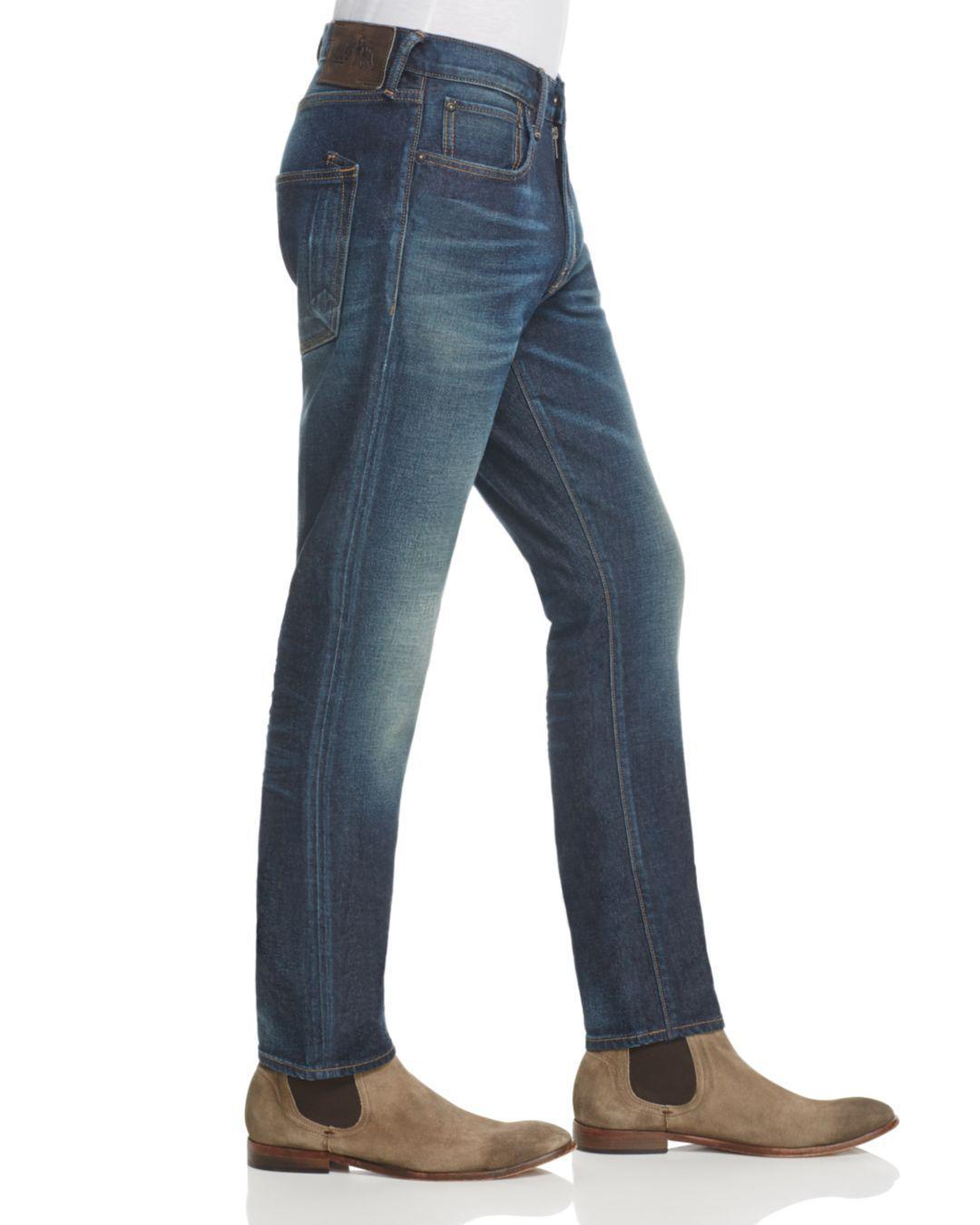 PRPS Denim Back-to-school Slim Fit Jeans In Indigo Wash in Blue for Men