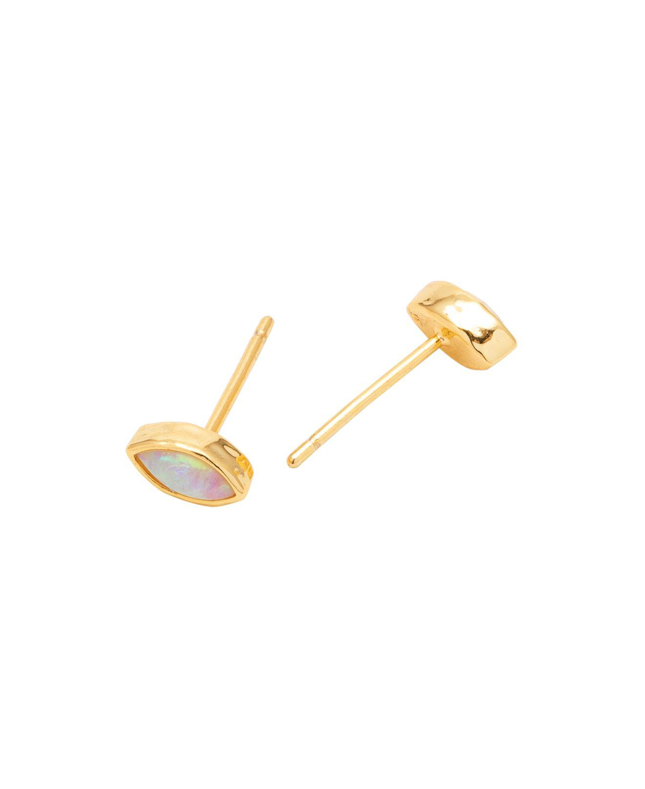 Rumi Studs in Metallic Gold Gorjana LzVG30HP