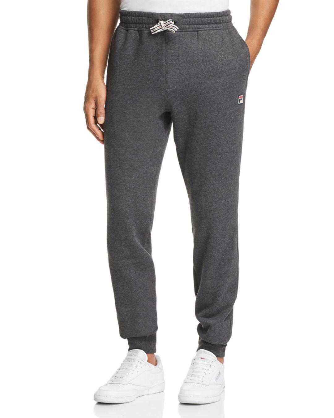 7457fdc2f056e Lyst - Fila Visconti Jogger Pants in Gray for Men