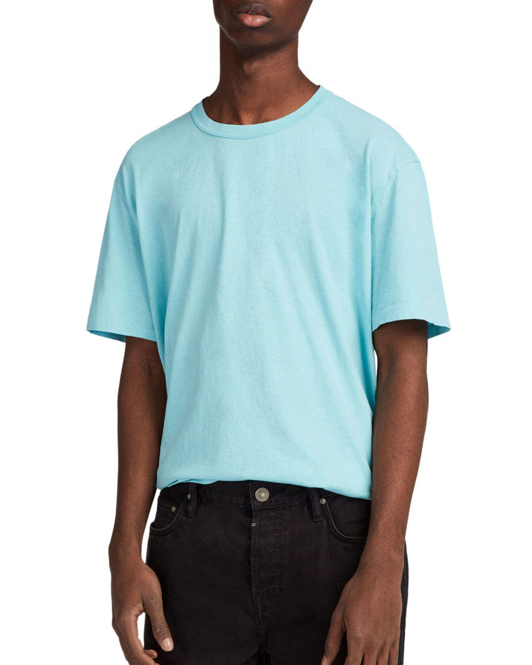 AllSaints Interger Tee in Blue for Men
