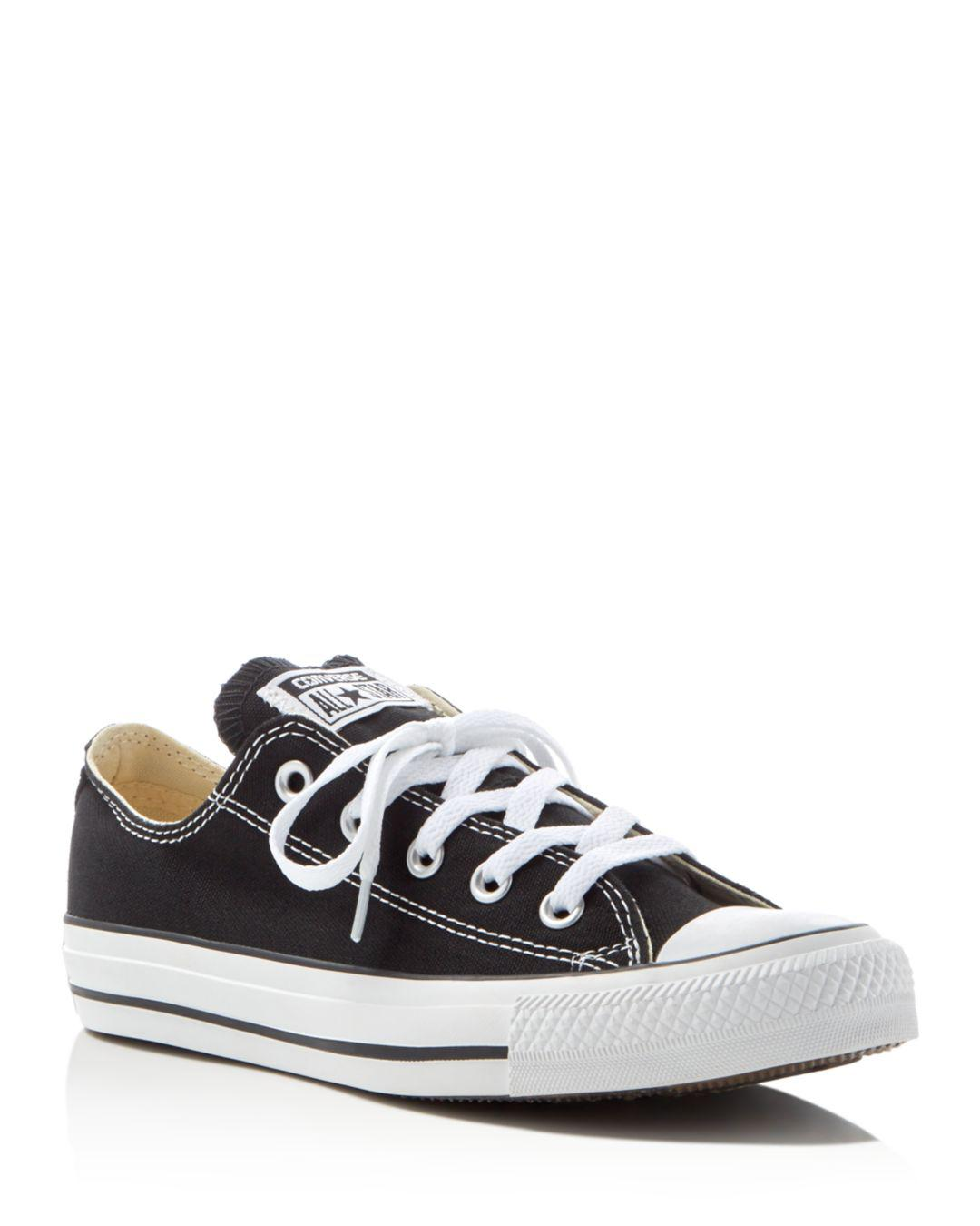303cc2d7148 Lyst - Converse Women s Chuck Taylor All Star Lace Up Sneakers in Black