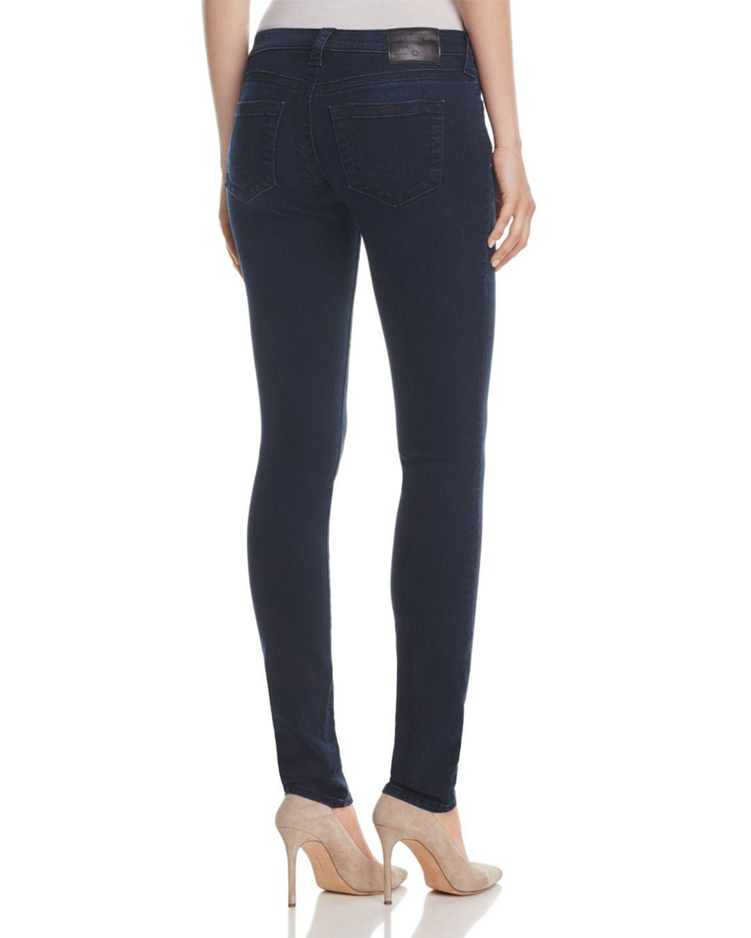 True Religion Denim Stella Skinny Jeans In Mystic Blues