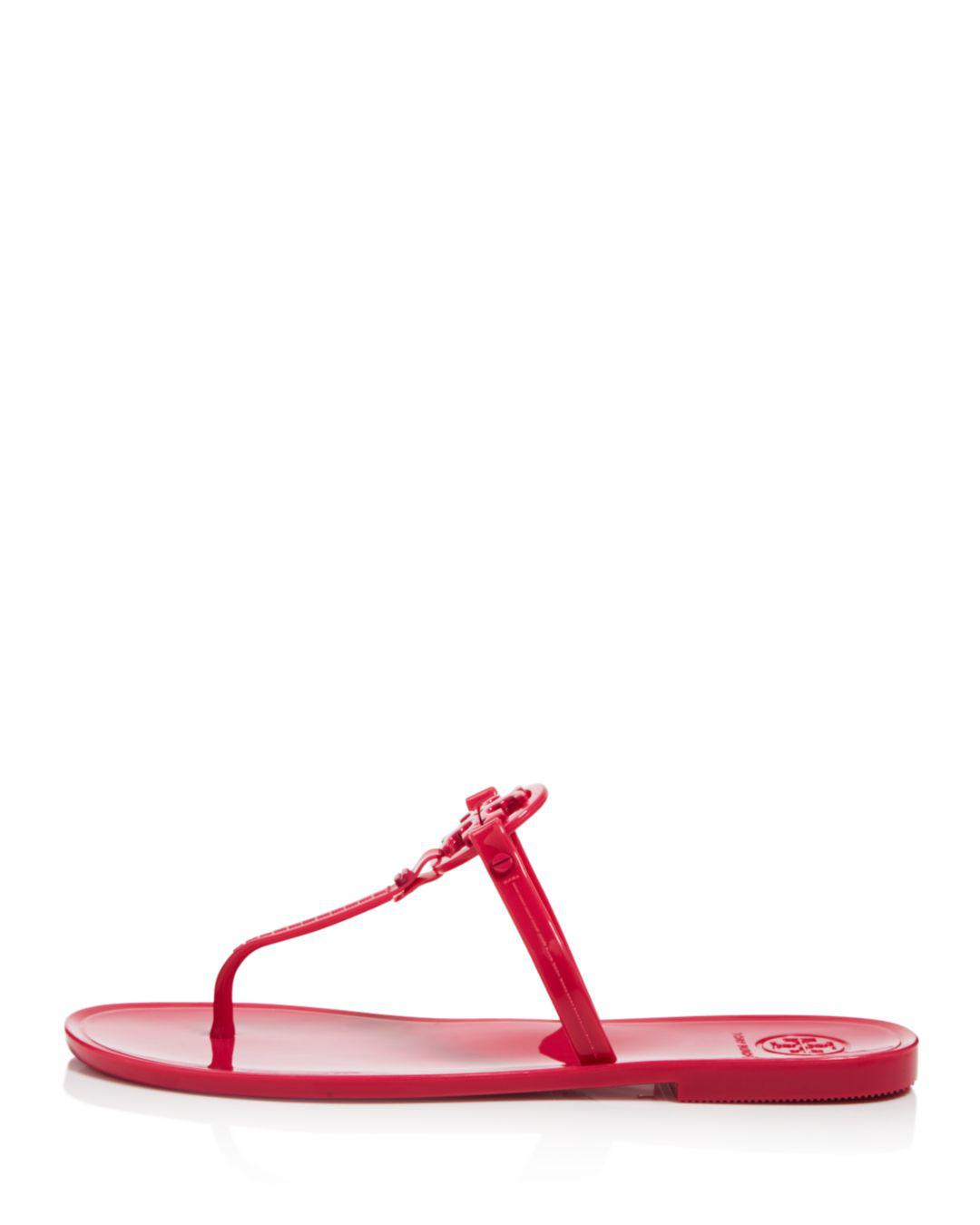 65054177aaee Lyst - Tory Burch Women s Mini Miller Thong Sandals - Save 20%