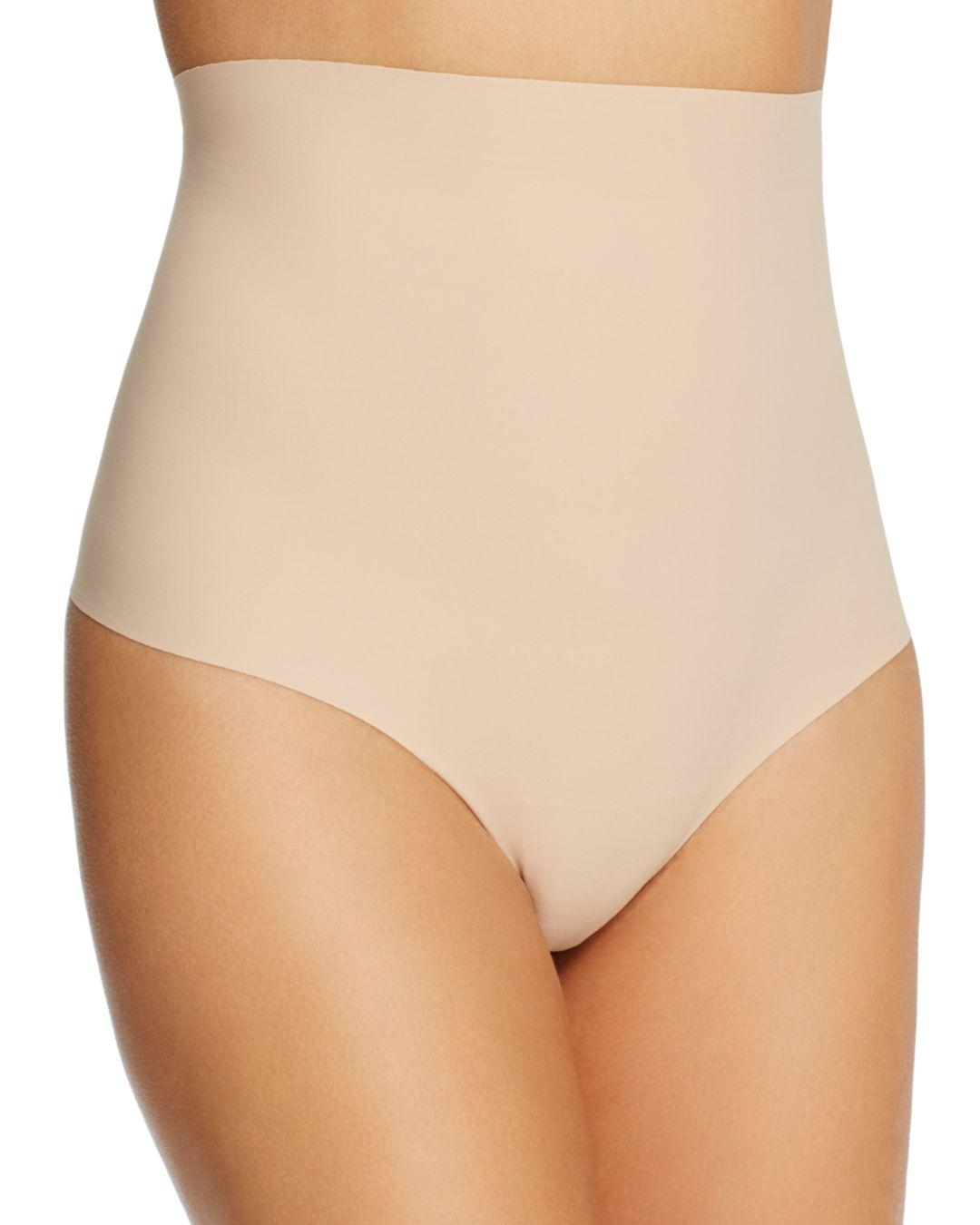 ff8713fab069 Lyst - Commando Classic Control Thong in Natural