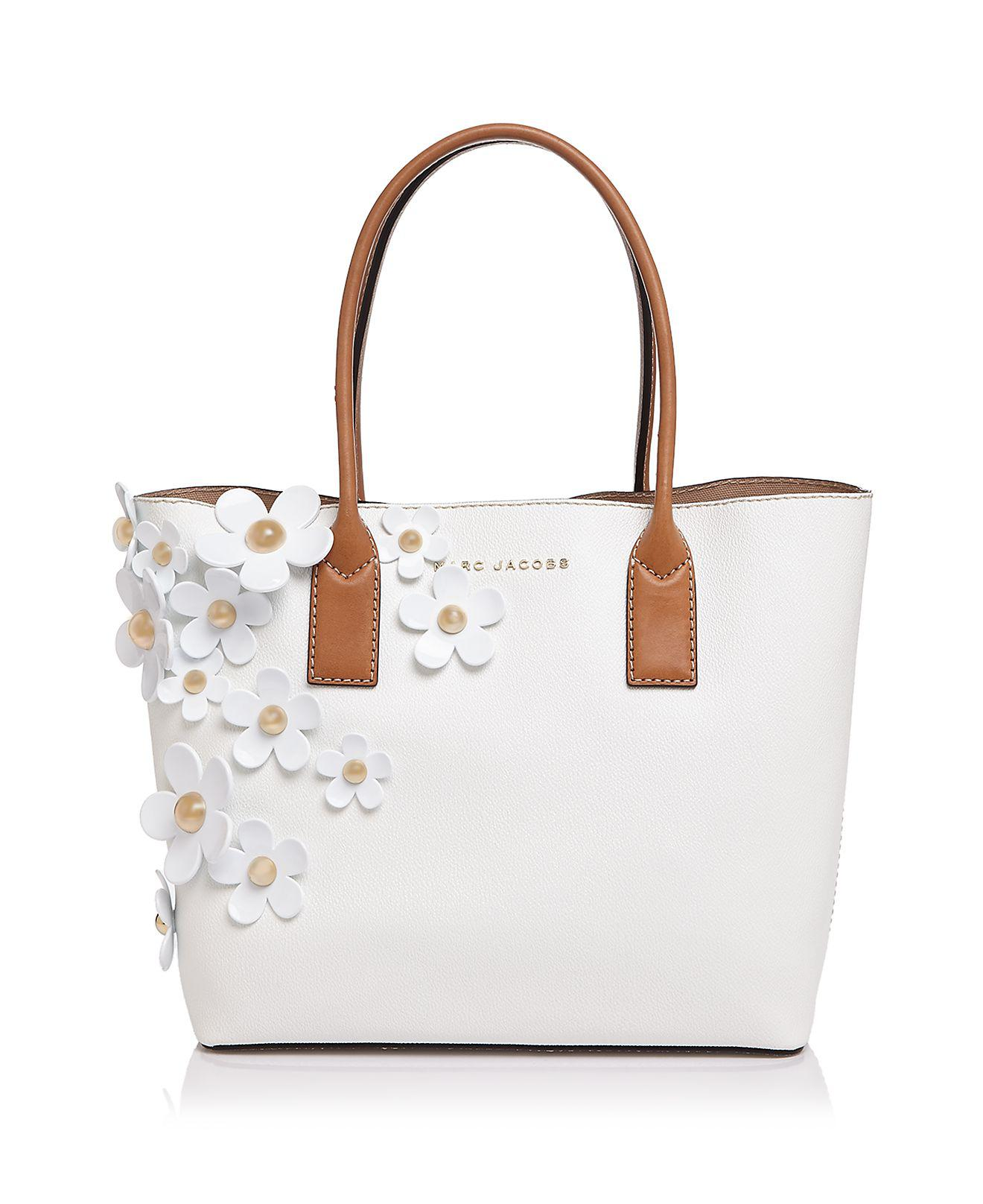 Lyst Marc Jacobs The Daisy Tote In White