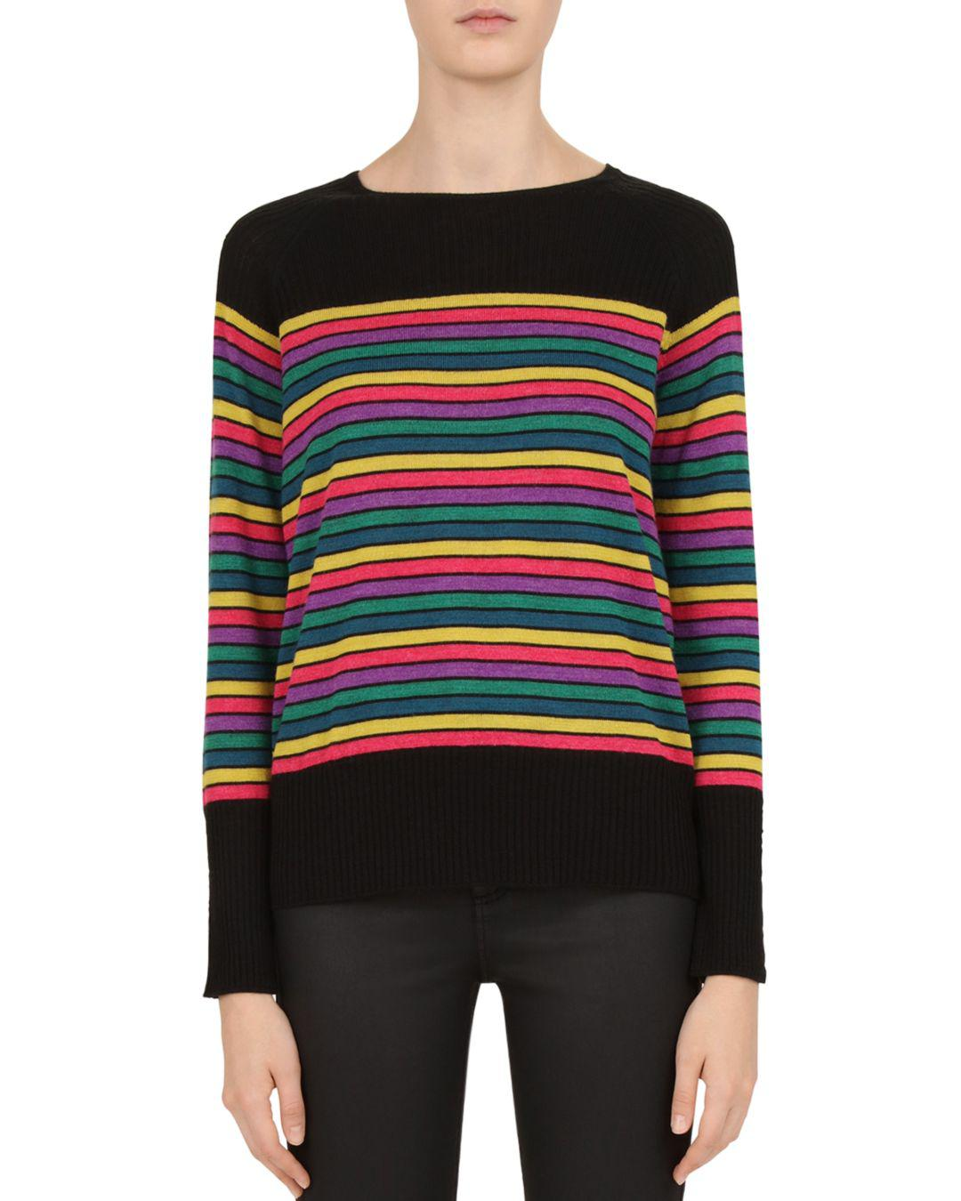 cfef596b5 Gerard Darel. Women s Calla Striped Sweater
