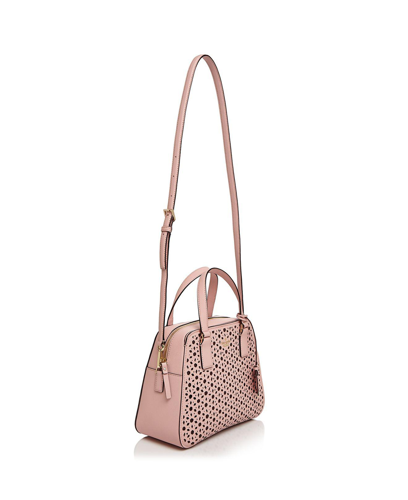d4174b0fd98 Kate Spade Cameron Street Little Babe Perforated Leather Satchel in ...