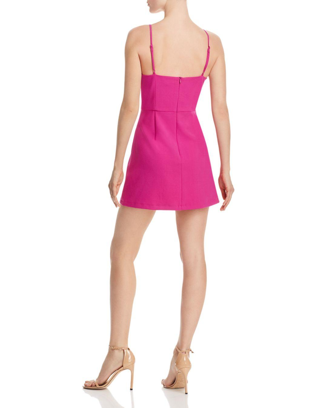 e2810a8ad32 French Connection Whisper Light A-line Dress in Pink - Lyst