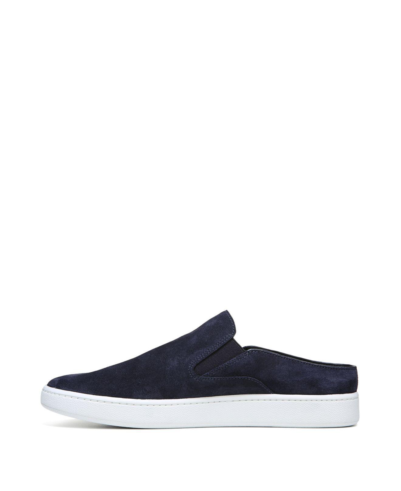 Vince Verrell Suede Slip-on Sneakers in Deep Blue (Blue)