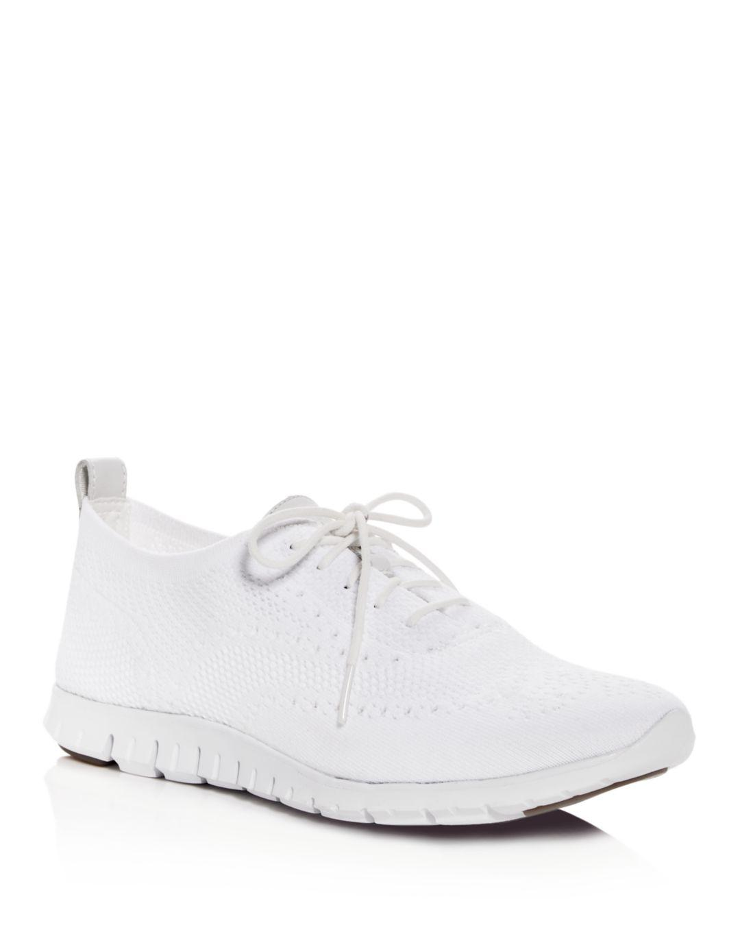 37fed979f69d0 Cole Haan Women's Zerogrand Stitchlite Knit Lace - Up Oxford ...