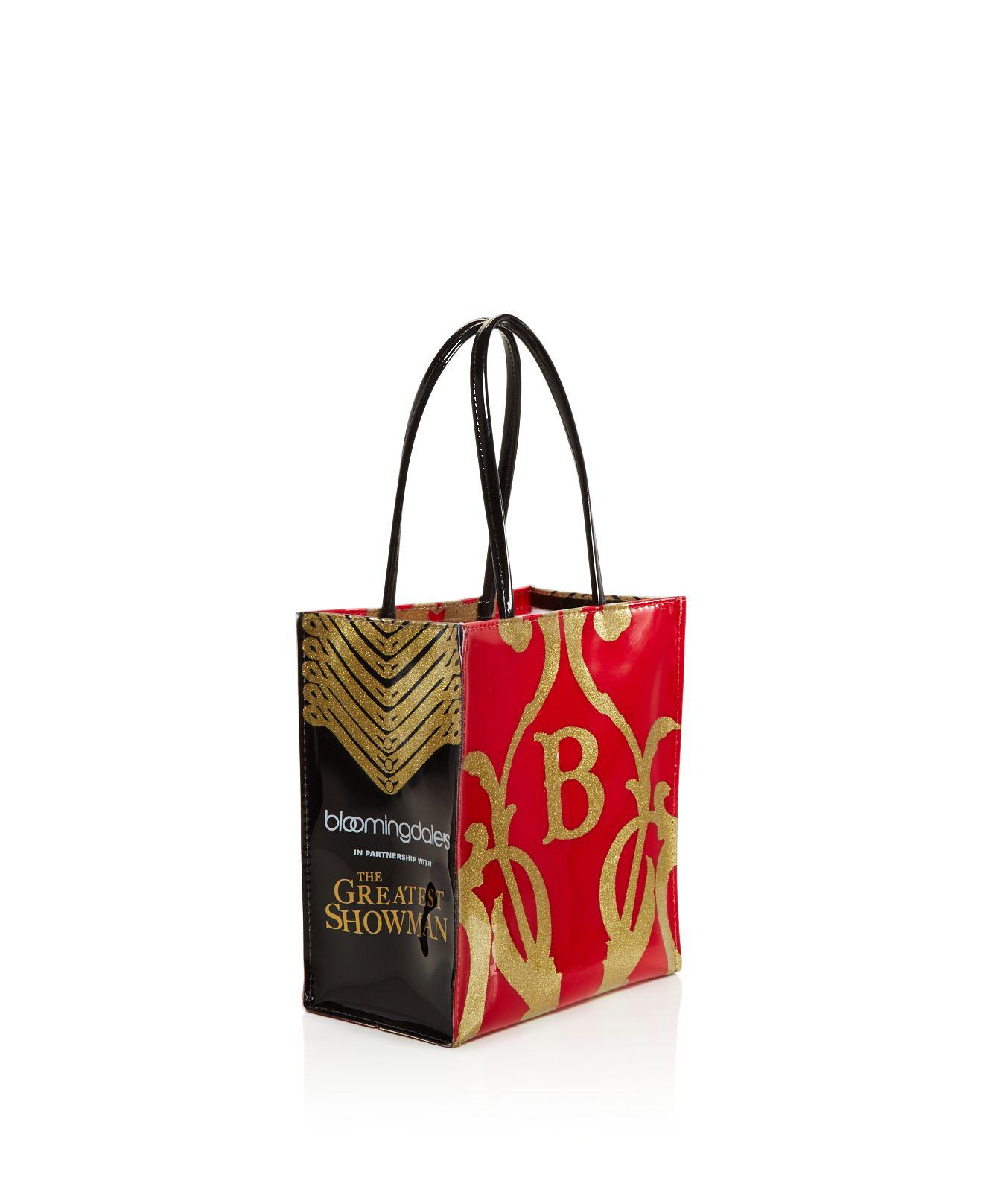 ... retailer f0546 4e3ca Lyst - BloomingdaleS The Greatest Showman Glitter  B Little B  buy popular 789e8 2a527 BloomingdaleS Little Brown Bag Lunch  Tote ... c026807e89