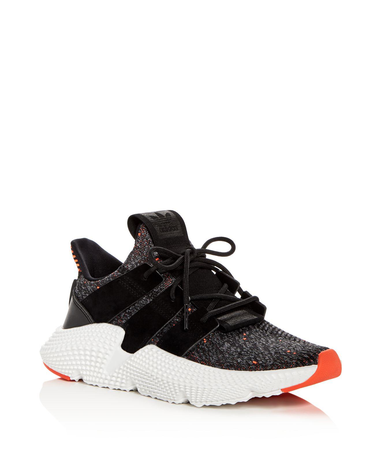 Adidas Black Prophere Lace-Up Sneakers outlet visit eBm6Z