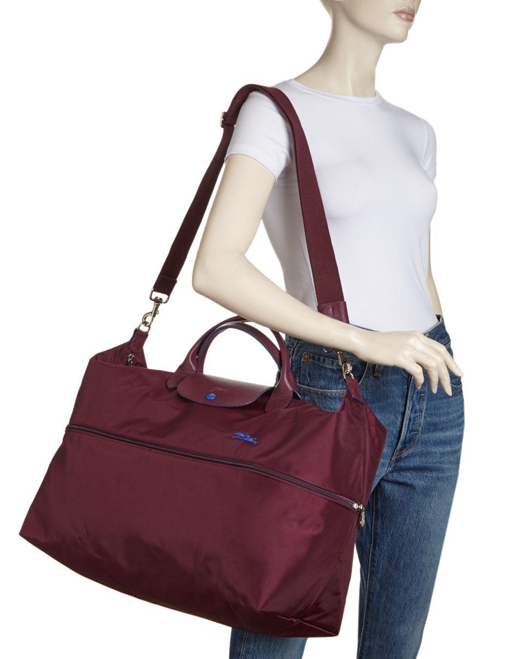 Le Pliage Club Expandable Large Nylon Travel Bag