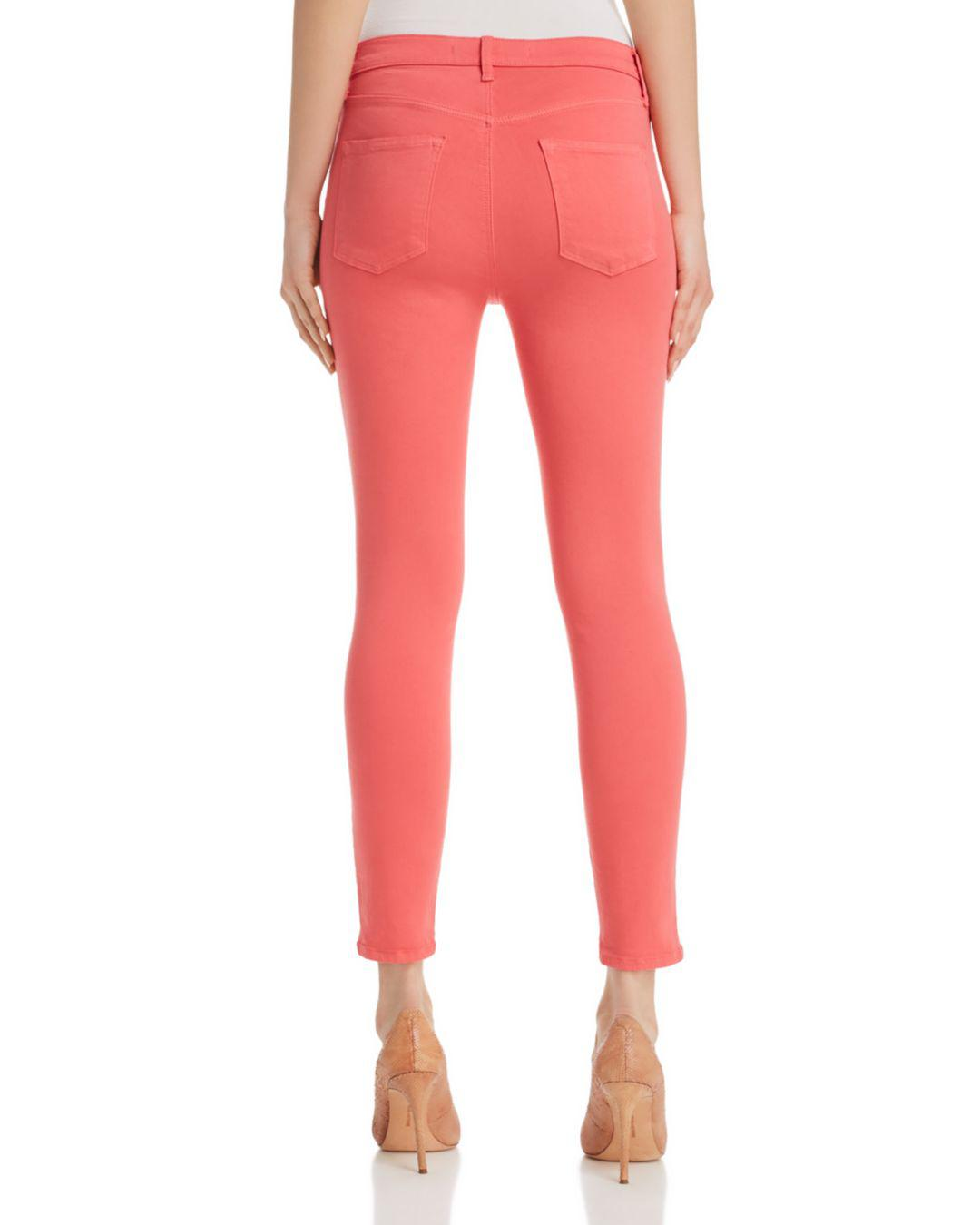 J Brand Denim Alana Photo Ready Skinny Jeans In Sedona Sunrise
