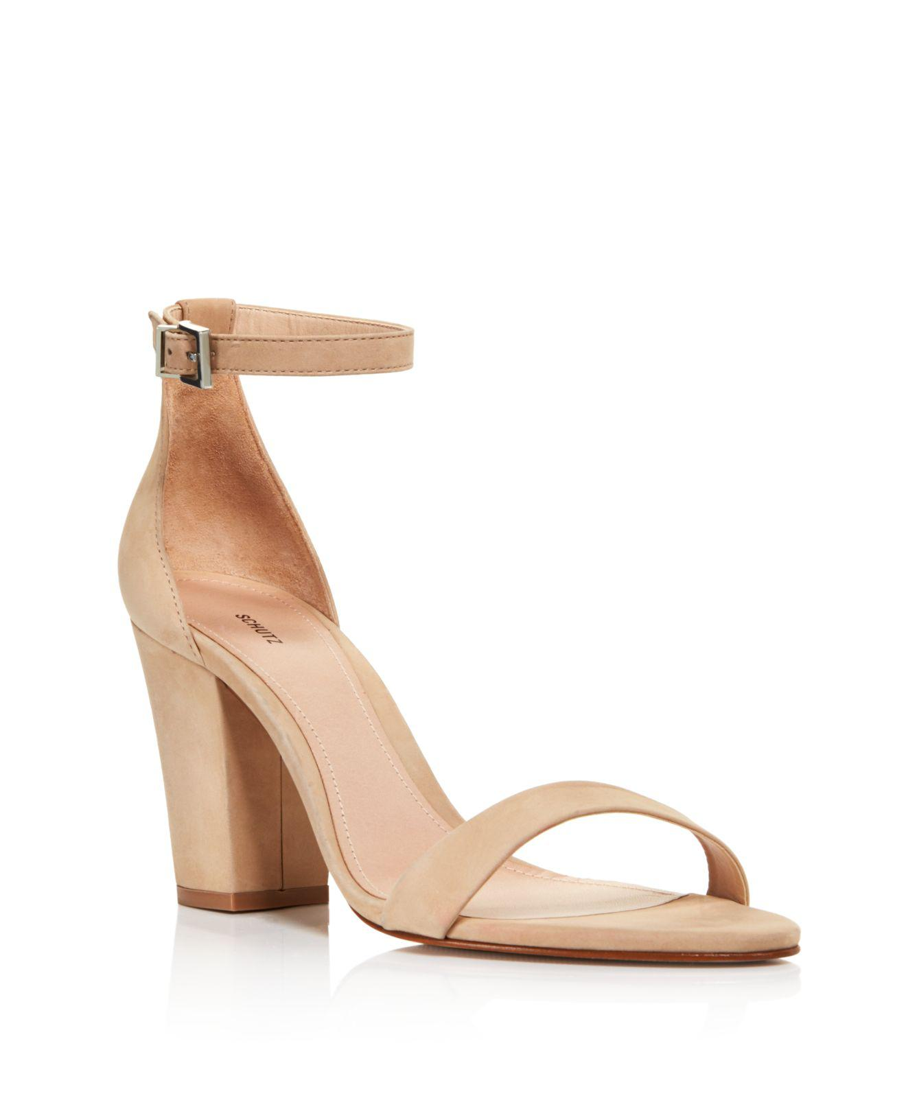 Schutz Suede Ankle-Strap Sandals in China sale online clearance cheap price outlet limited edition comfortable cheap online dU25XhqtxK