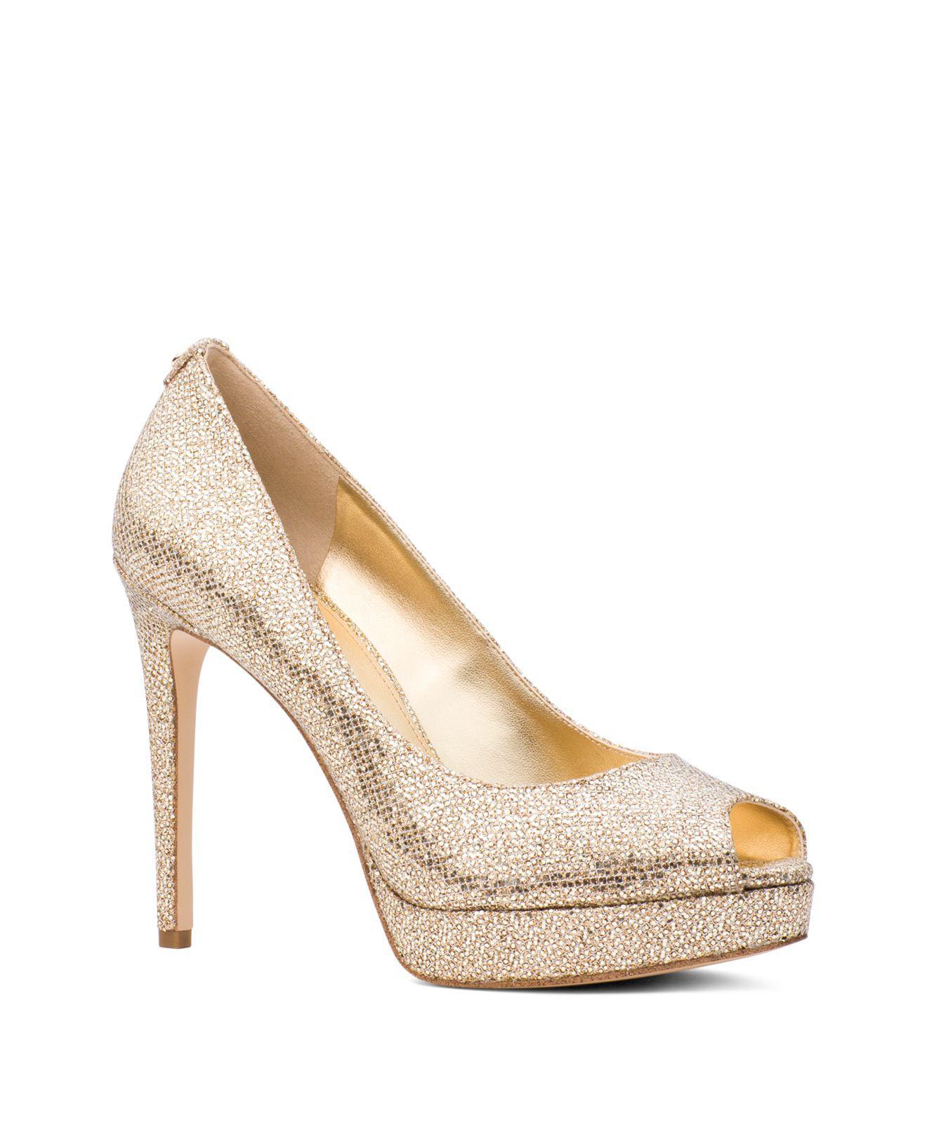 MICHAEL Michael Kors ERIKA SLING - Peeptoe heels - black ePSDd