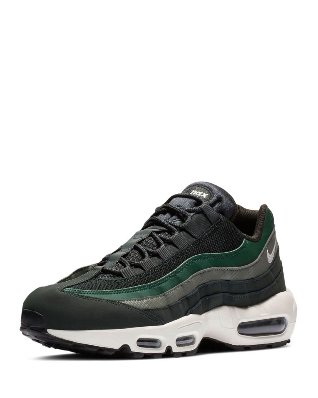 separation shoes f5d63 bc740 Green Men's Air Max 95 Essential Sneaker