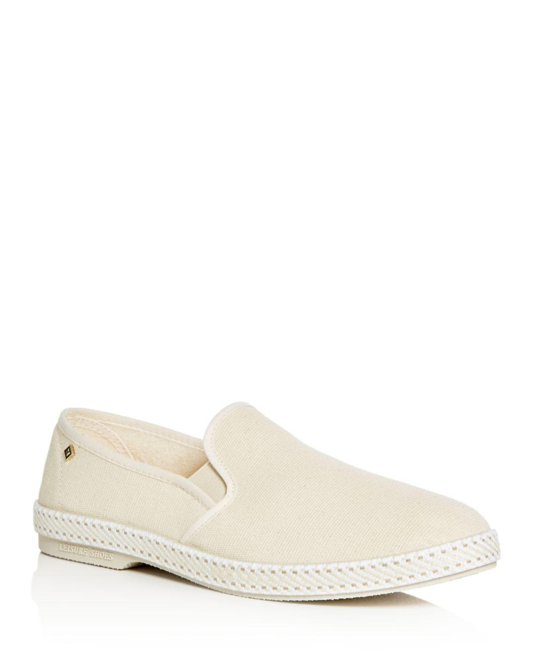 941430fc8a0 Lyst - Rivieras Men s Classic Slip-on Sneakers in Natural for Men