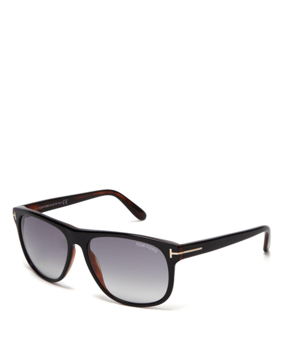 1a45216ef3b Lyst - Tom Ford Men s Olivier Sunglasses in Black for Men