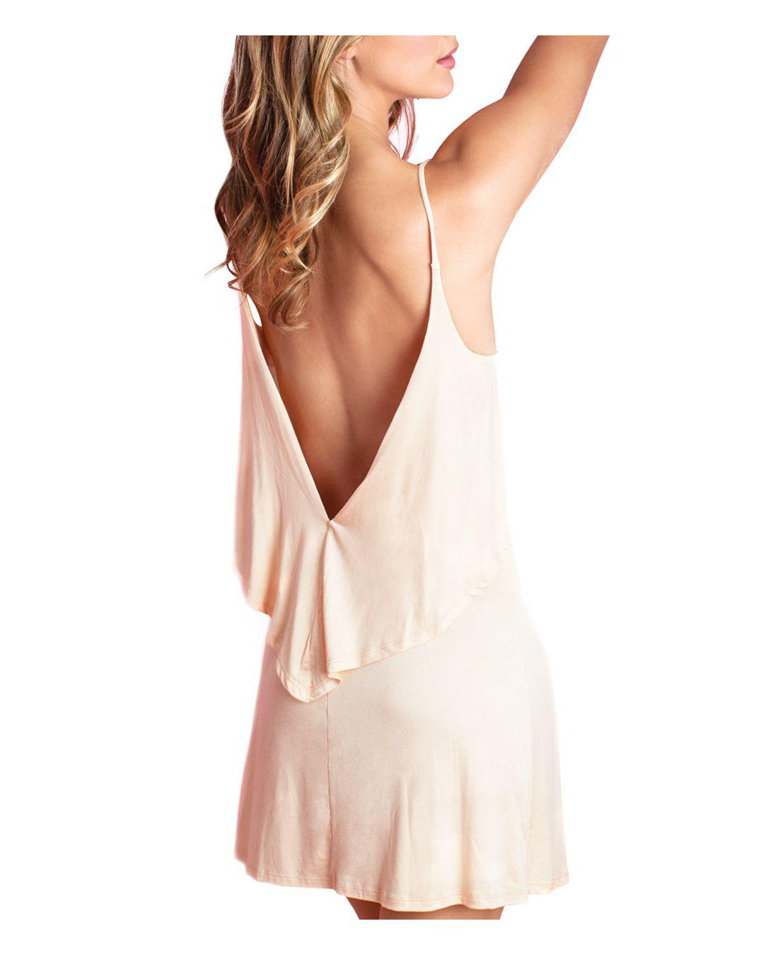 96cb61b29e Fashion Forms U Plunge Backless Strapless Bodysuit in Natural - Lyst