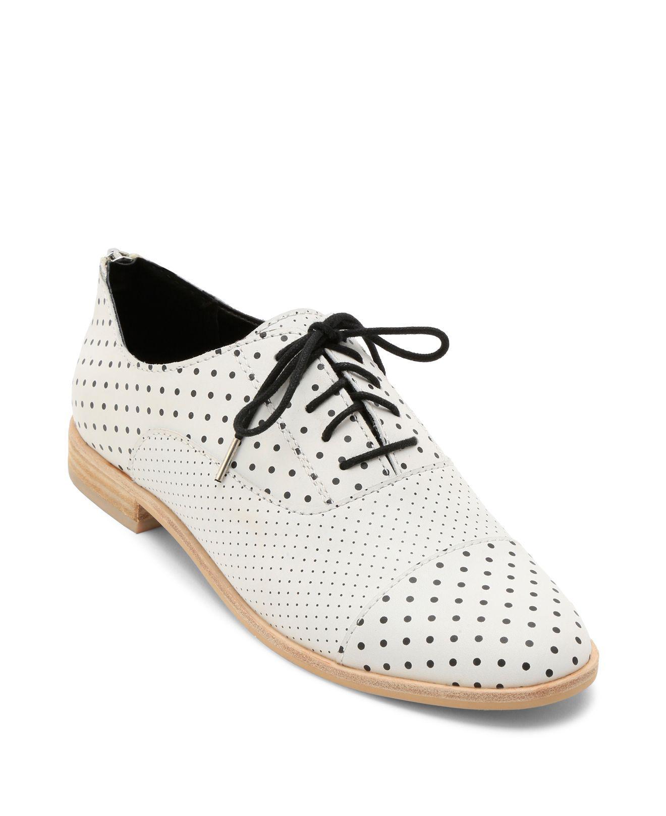 Dolce Vita Women's Polo Polka Dot Leather Oxfords qlm7EsC9n3