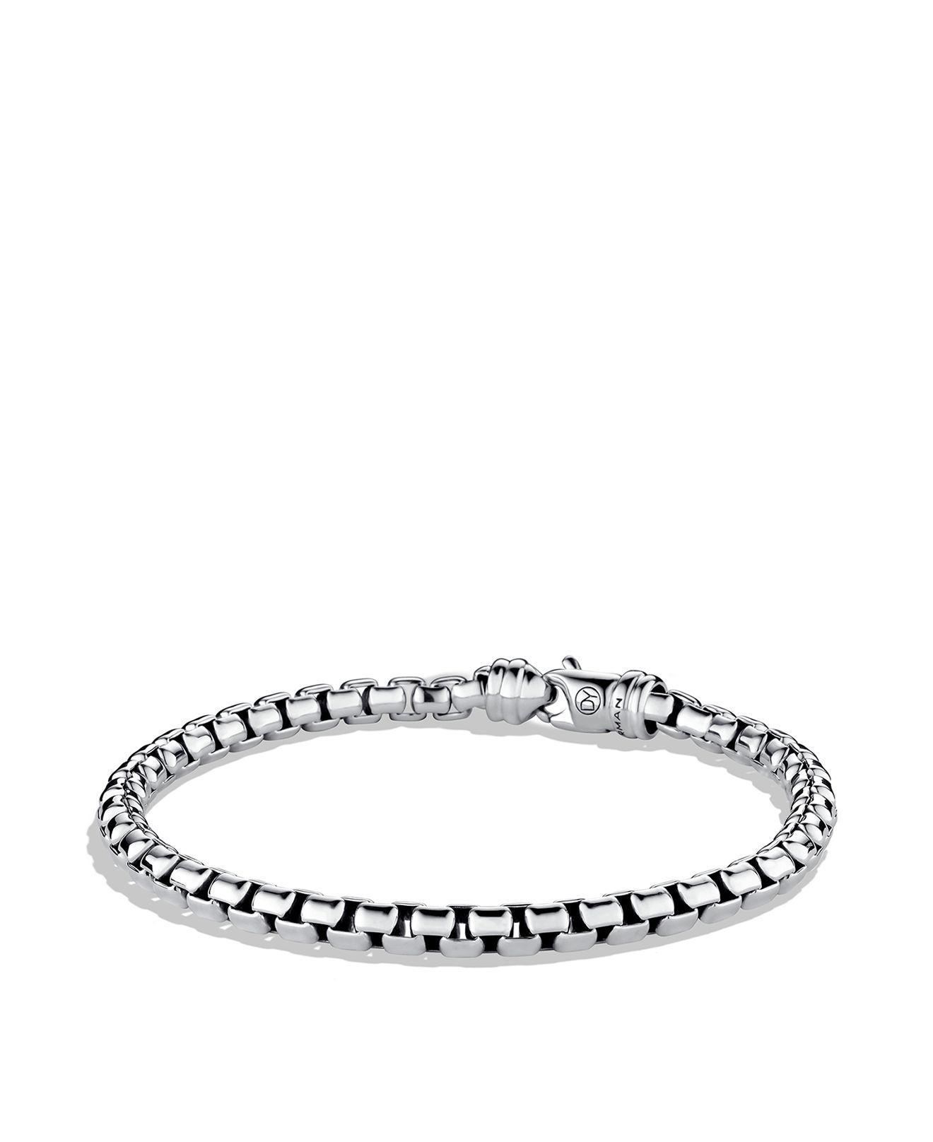 David Yurman Woven Box Chain bracelet - Metallic auH1FXQgs