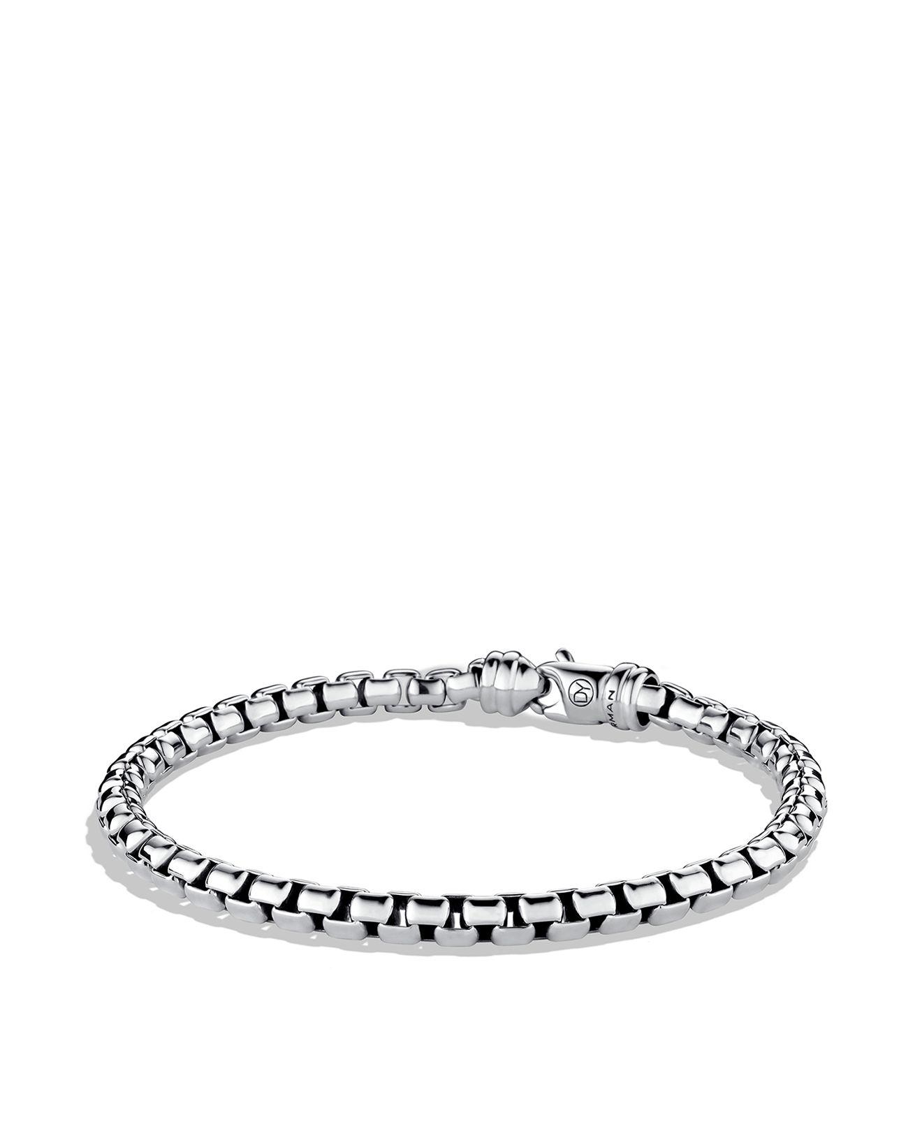 David Yurman Woven Box Chain bracelet - Metallic Uyjr0
