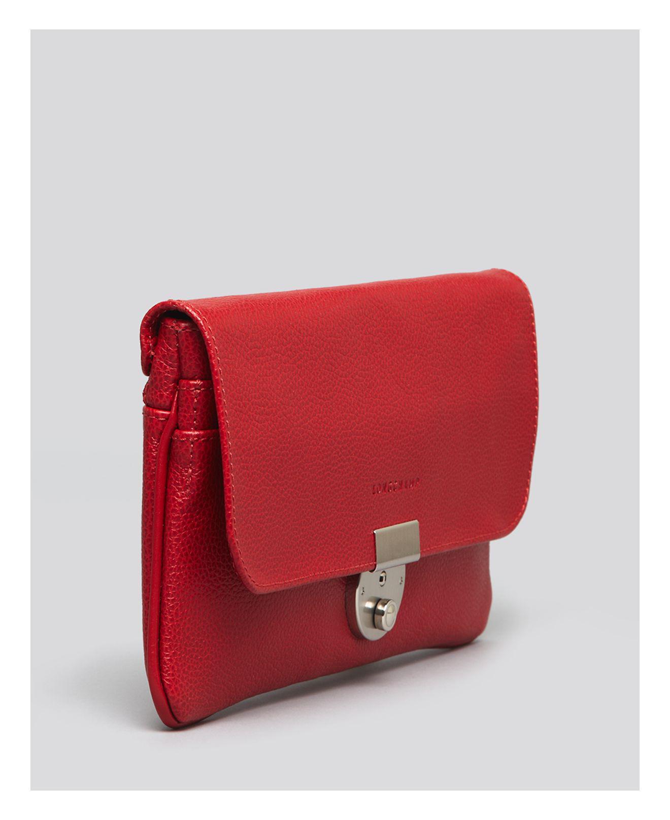 Longchamp Le Foulonne Pochette Clutch Bag MLz1fvUpXg