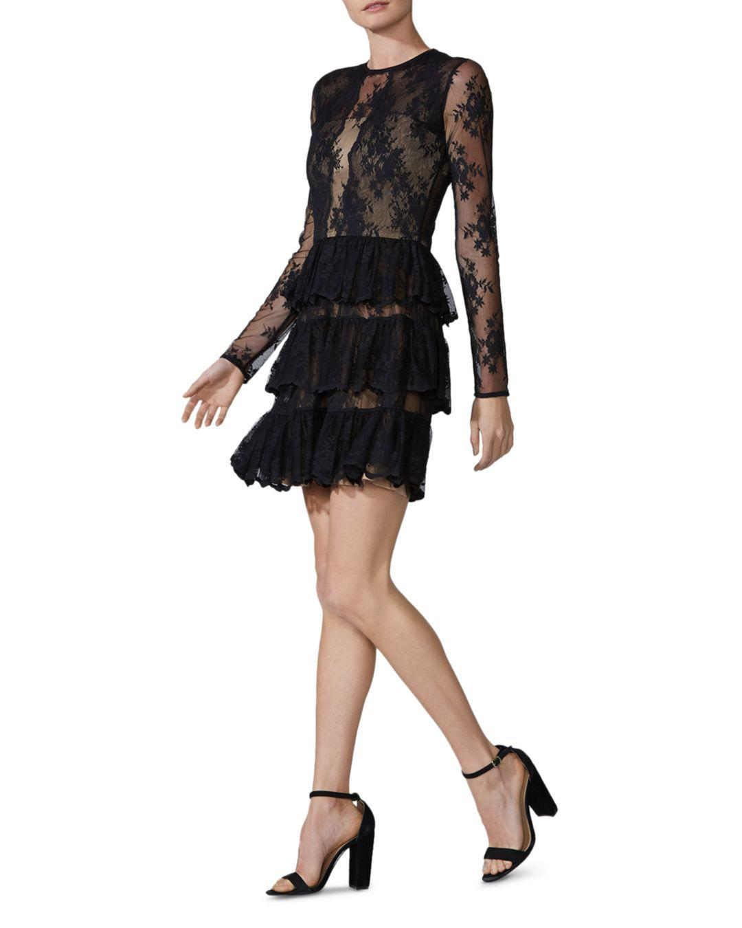 Riviera Lace Tiered Dress