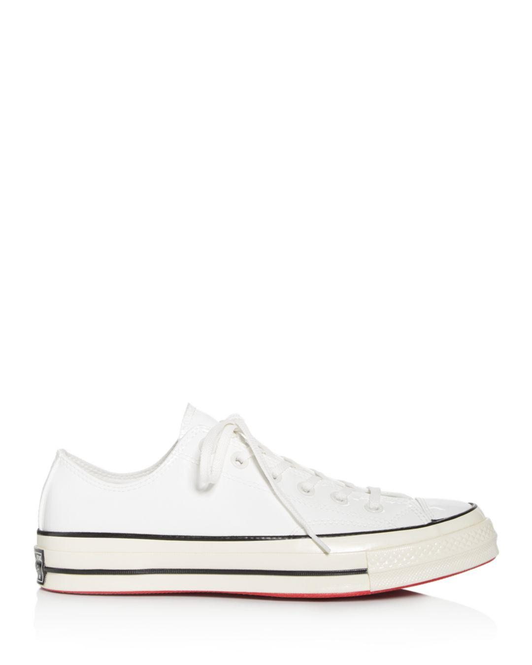 ea26eeeccca4de Converse Women s Chuck Taylor All Star Lace-up Sneakers in White - Lyst