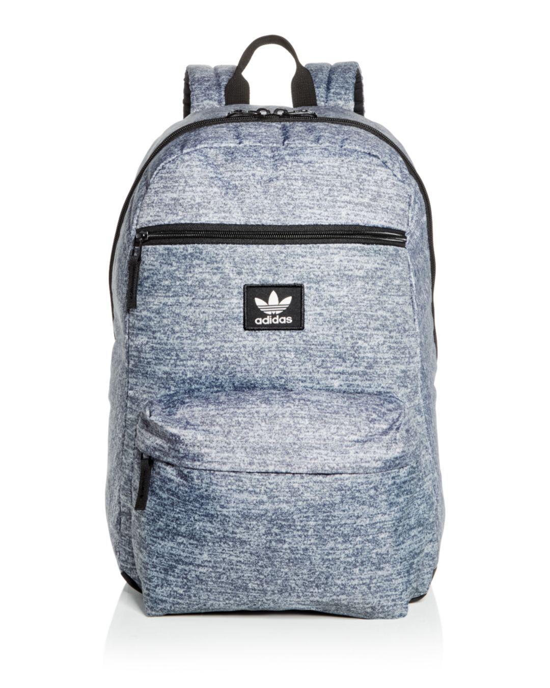 d580cf8641d4 Adidas - Gray Originals National Heathered Backpack for Men - Lyst. View  fullscreen