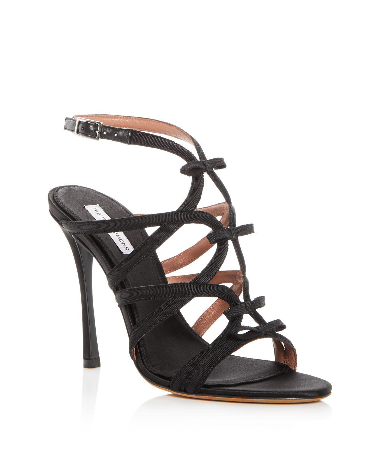 Tabitha Simmons Women's Bowrama Strappy High-Heel Sandals sQtXYPF9p